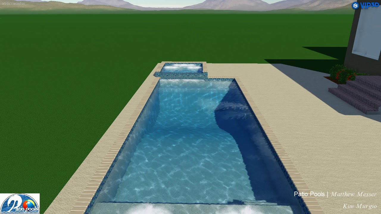Murgio Swimming Pool (Acrylic/Concrete) - Patio Pools T&a & Murgio Swimming Pool (Acrylic/Concrete) - Patio Pools Tampa - YouTube