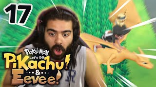 CHARIZARD FLYING!!! | Pokemon Let's Go Pikachu & Eevee Playthrough w/ TheHeatedMo - 17
