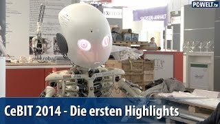 CeBIT 2014 - Die ersten Highlights der Messe | deutsch / german