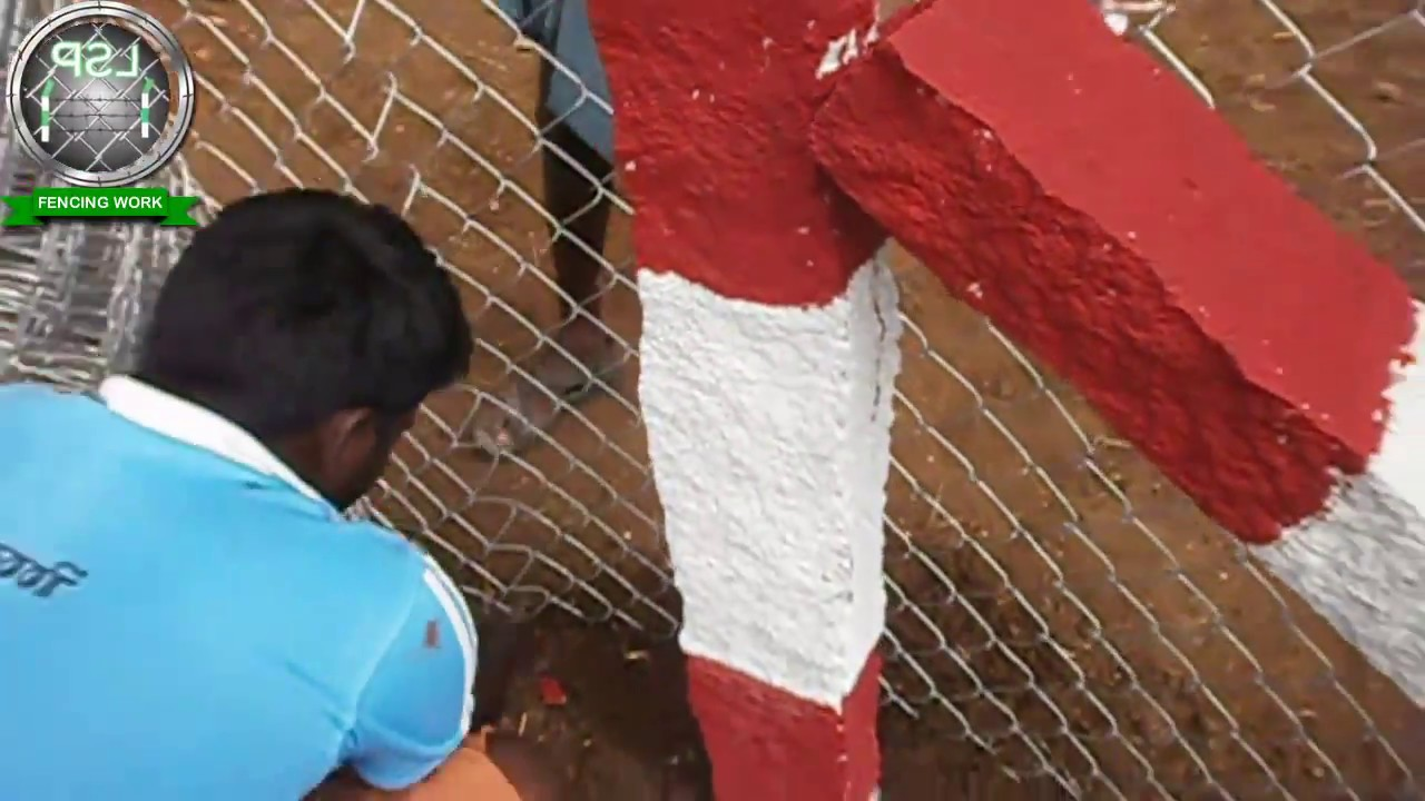 Fencing Work In Pondicherry Lsp Chain Link Barbed