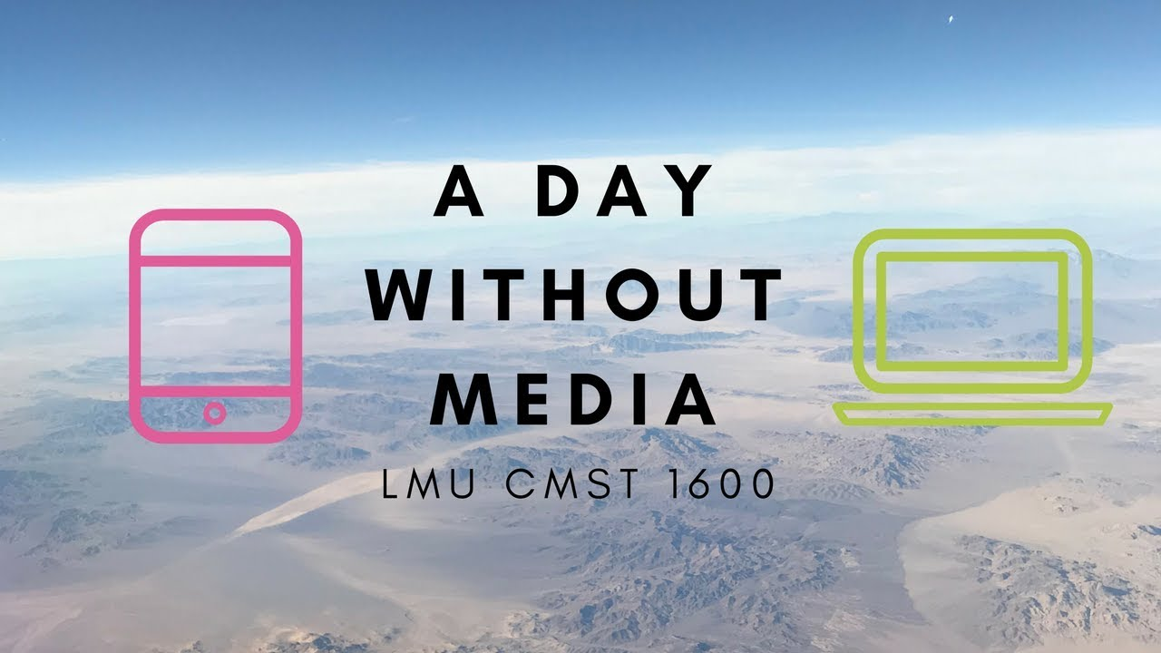 a day without media