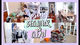 Spring Declutter & Clean With Me 2019