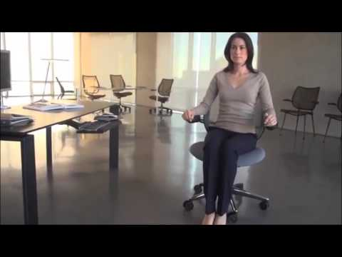 humanscale liberty task office desk chair review youtube
