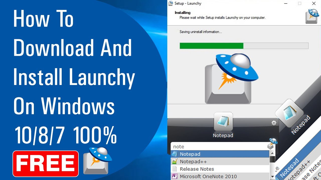 How To Download And Install Launchy On Windows 10/8/7 100% ...