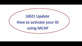 GB21 Update | How to activate any contract using MCAP