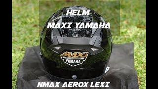Nonton Helm Yamaha Maxi bawaan NMAX 155 | pertamax7