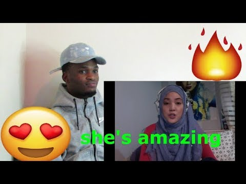 Shila Amzah love yourself cover  REACTION VIDEO