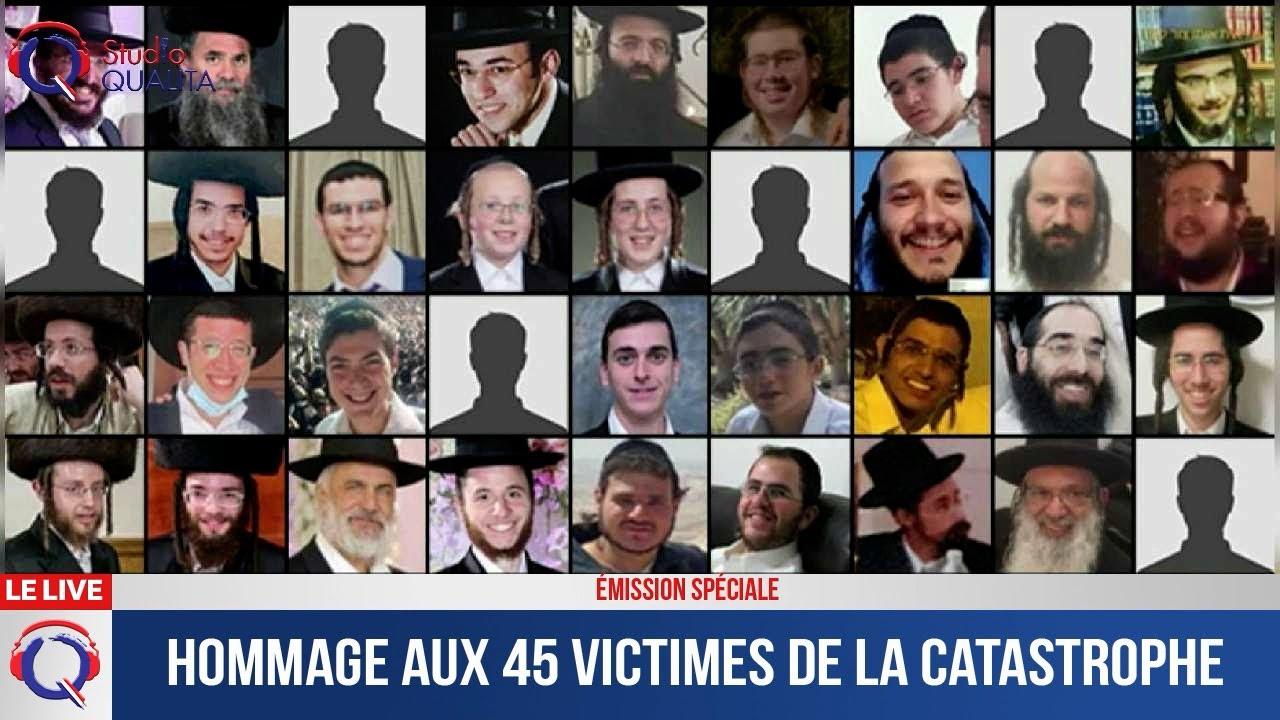 Hommage aux 45 victimes de la catastrophe