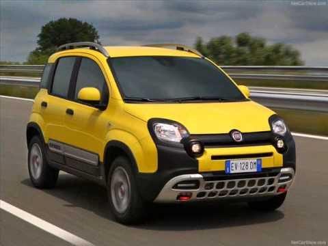 All New 2014 Fiat Panda Cross Yellow Exterior - YouTube
