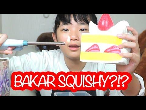 SQUISHY DARES BAKAR SQUISHY ?!! KLARENZA HENDRAWAN
