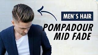 Baixar Pompadour Mid Fade Undercut for men barber style - Men's hair Summer trends