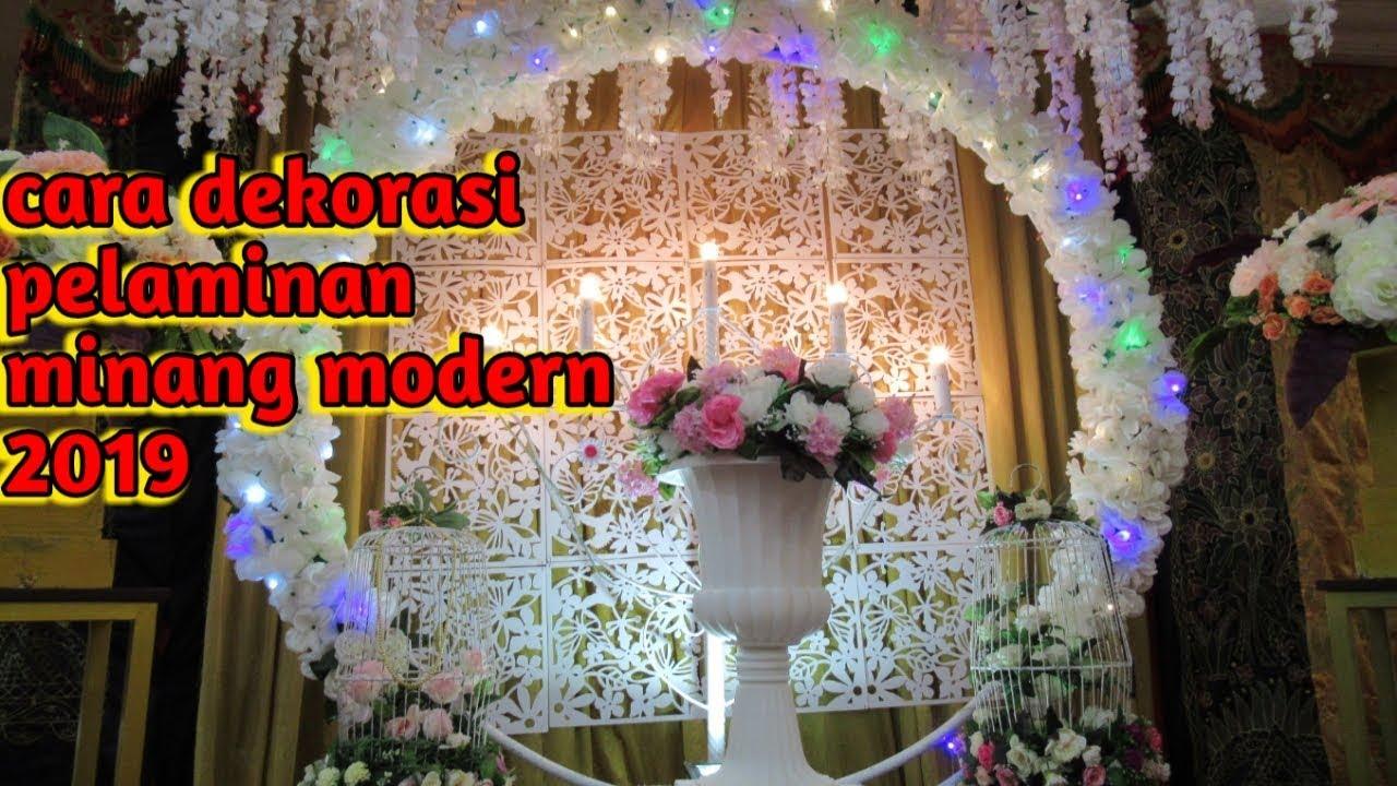 Mami Wocara Dekorasi Pelaminan Modern