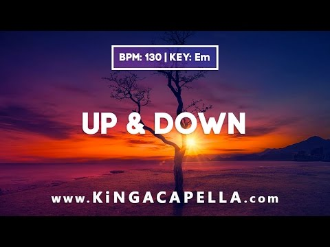 Billy More - Up & Down (Studio Acapella)