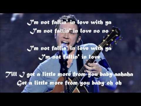 Philip Phillips - Give A Little More (by Maroon 5) w/lyrics