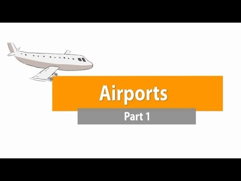 Airports - Part 1 ภาษาอังกฤษ ม.1-3