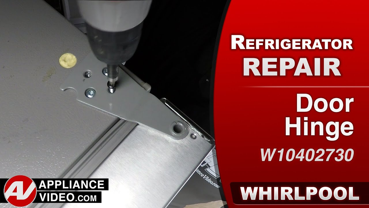 Whirlpool Refrigerator Door Hinge Repair Amp Diagnostic