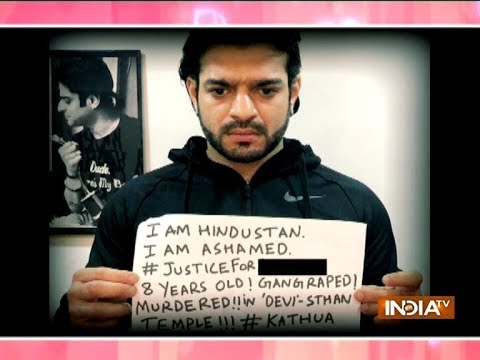 Kathua rape case: Divyanka Tripathi, Karan Patel and other TV actors demand justice