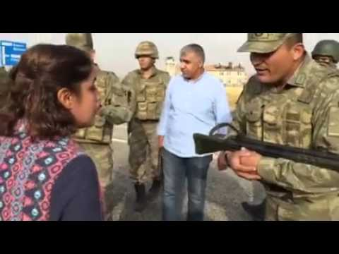 Hdp Milletvekili Ayşe Acar Başaran ile Asker arasında ki gerilim