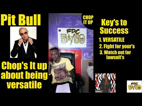 Pit Bull chop's it up about his keys to success