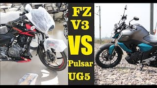 FZ FI V3 ABS VS Pulsar 150cc Dual Disk Which Is Best In Price Mileage