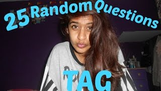 25 Random Questions Tag | Iqra Arshad Beauty