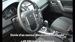 Land rover freelander occasion visible à Aurillac présentée par Cat automobile service(Cette Land rover freelander occasion disponible à Aurillac dans le 15 est mise en vente par Cat automobile service -- 04 71 63 54 71 - tous les détails sont sur ..., 2013-02-07T18:39:28.000Z)