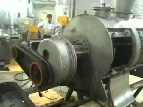Used- Lodige Plow Mixer, Model H600, 11 Cu. Ft. Capacity - Stock# 40530001