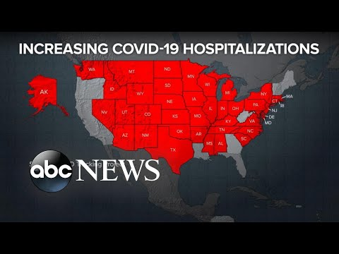 COVID-19 surges in Texas, Michigan, Utah, Montana