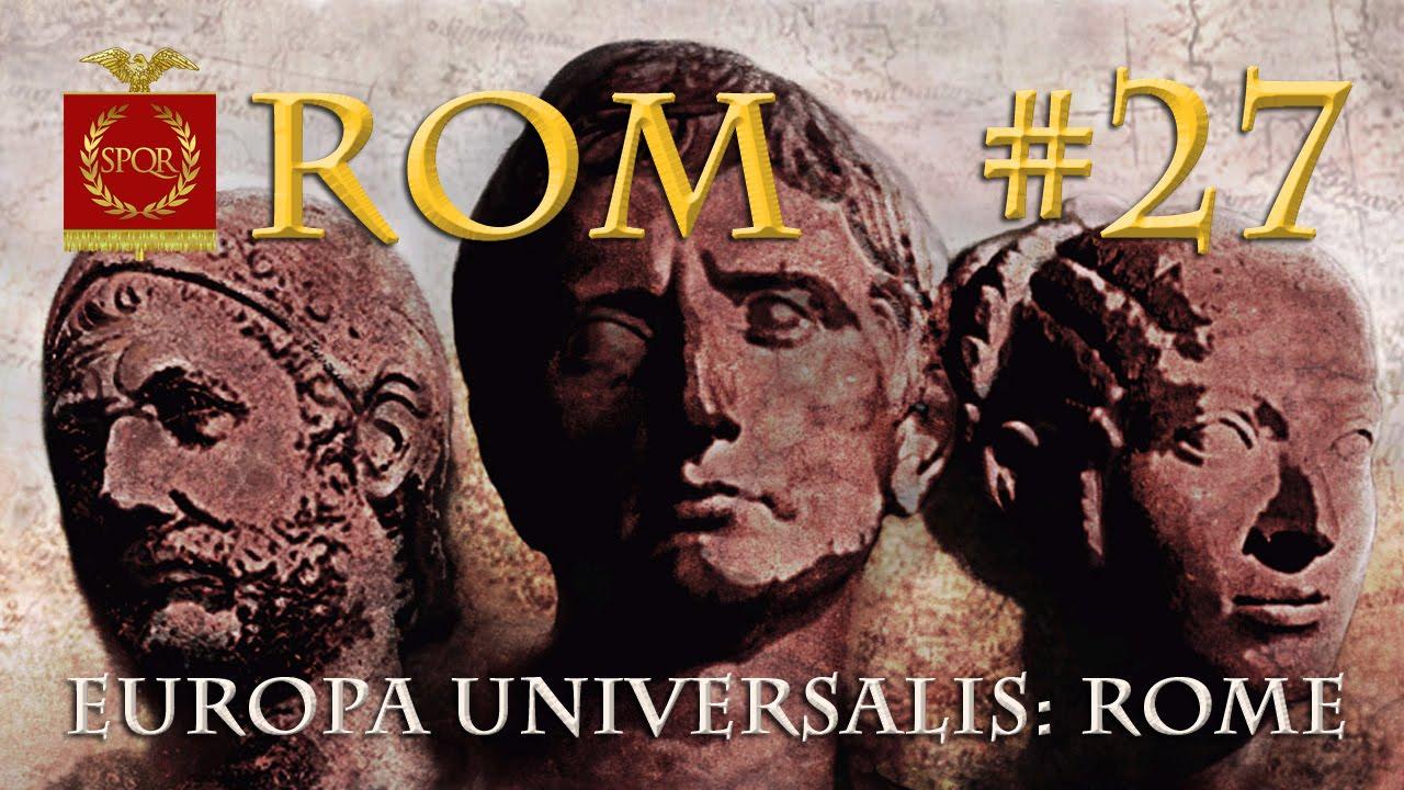 Let's Play Europa Universalis Rome #27: Spartakus (deutsch ...