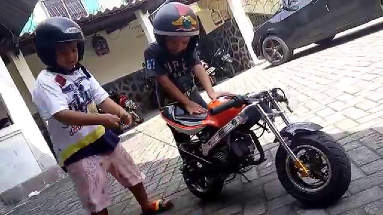 Motor Mainan Anak Bensin YouTube