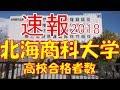 【速報】北海商科大学 2018年(平成30年) 合格者数高校別ランキング