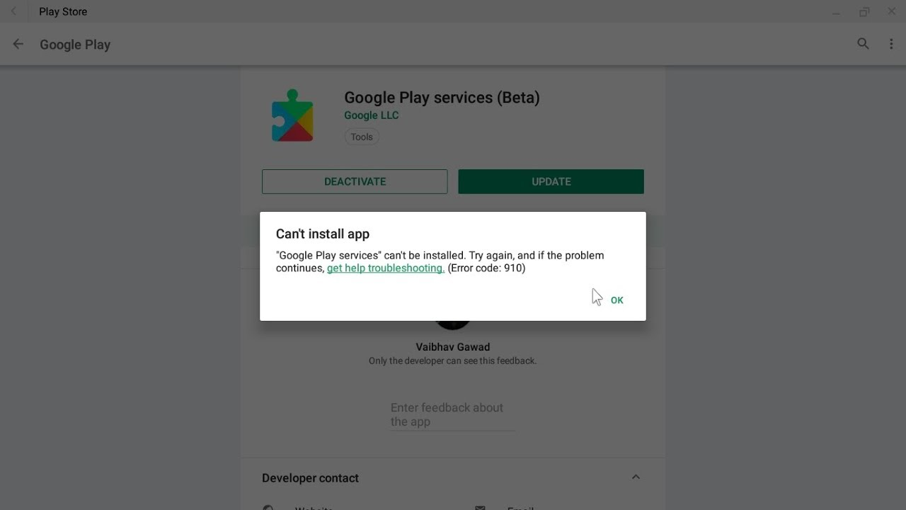 How to Fix Google Play Service not downloading Error In Phoenix OS