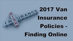 2017 Van Insurance Policies - Finding Online Car Insurance