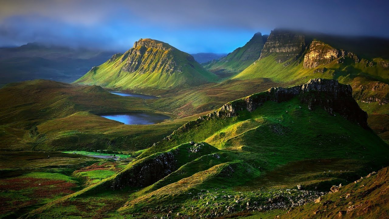scottish isle of