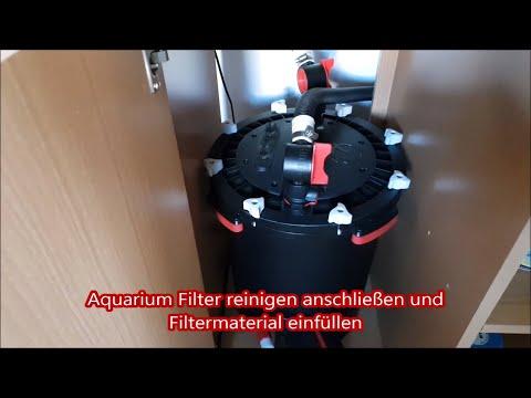 Aquarium Filter reinigen - anschließen [Tutorial Fluval FX 6 ]Filter wann wie oft reinigen?