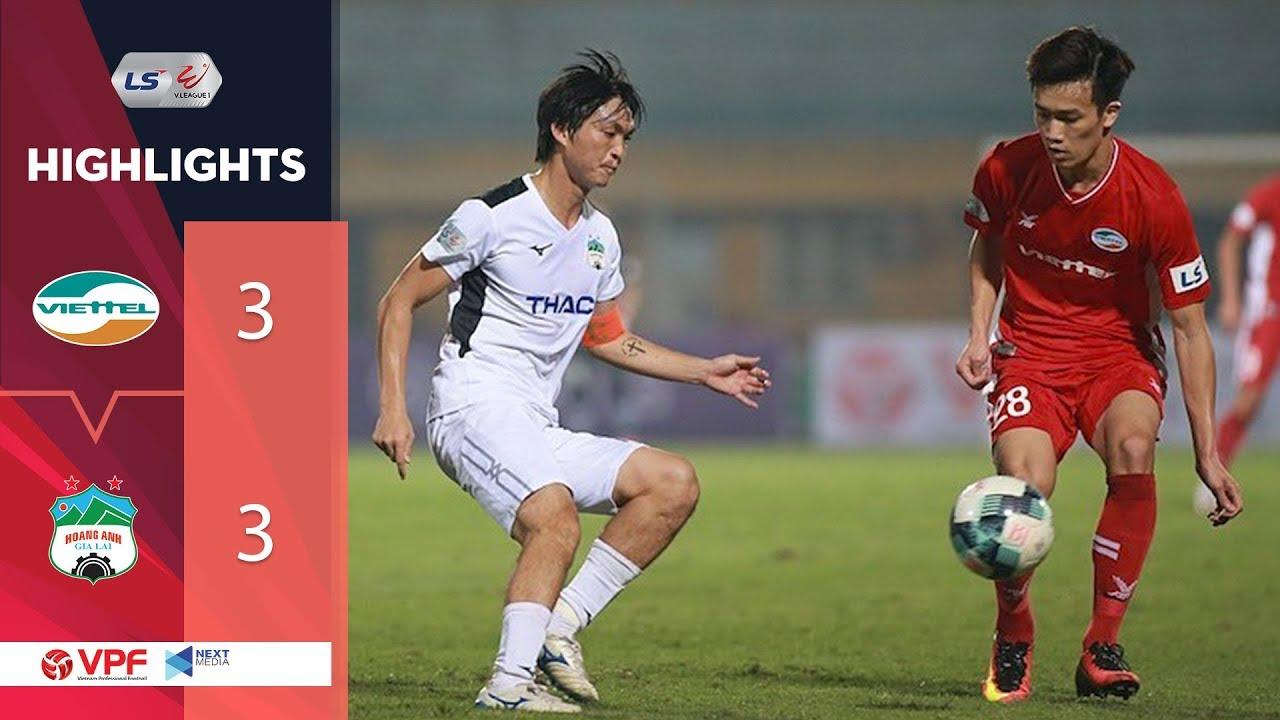 Highlights | Viettel – HAGL | Bùng nổ cảm xúc với 6 bàn thắng! | VPF Media
