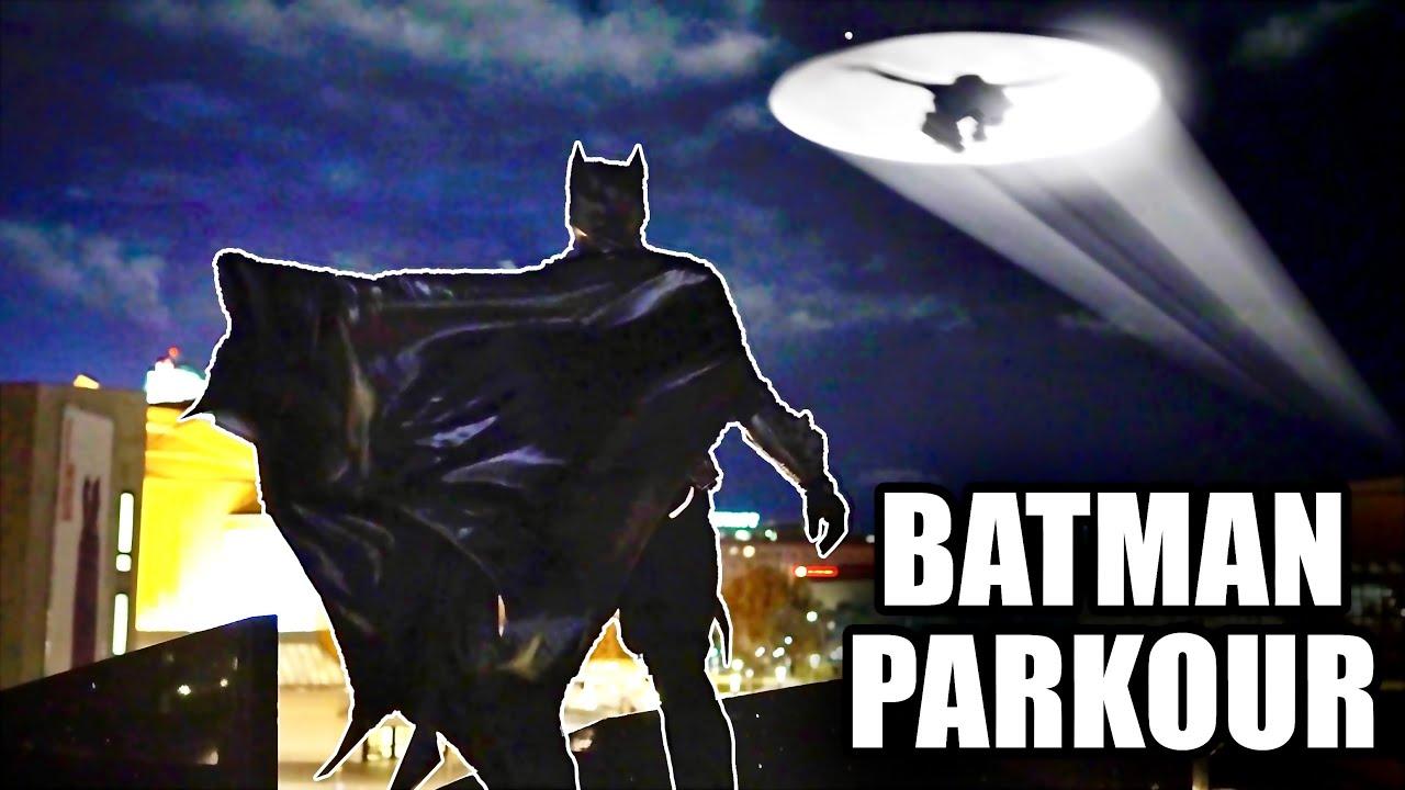 BATMAN Parkour VS Catwoman - Stunt Fight