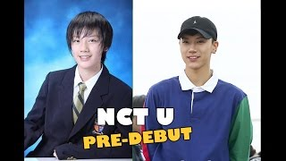 NCT U Pre-Debut Before - After