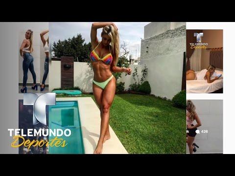 Cristiano Ronaldo persigue a la rubia más sexy de Argentina | Deporte Rosa | Telemundo Deportes