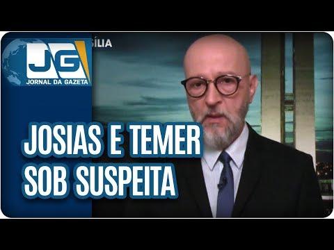 Josias de Souza/Temer, mais uma vez, sob suspeita