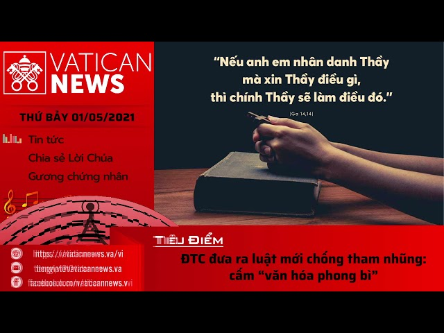 Radio thứ Bảy 01/05/2021 - Vatican News Tiếng Việt