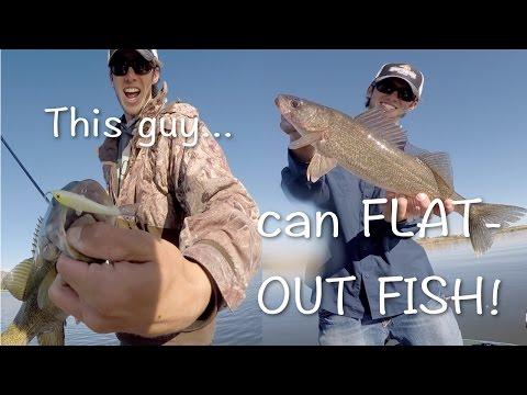 Walleye Fishing - We Caught Fish All Morning!