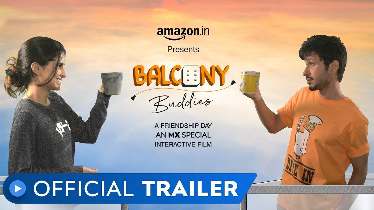 Balcony Buddies | Official Trailer | Amol Parashar | Aisha Ahmed | MX Player