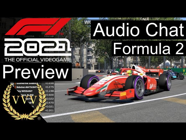F1 2021 game - Formula 2 and Audio Chat