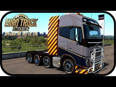 ETS2 Baltic Sea #1 - 22 Tonnen Balken nach Riga | Euro Truck Simulator Beyond the Baltic Sea