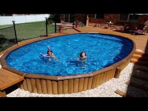 Free Diy Above Ground Pool Deck Plans