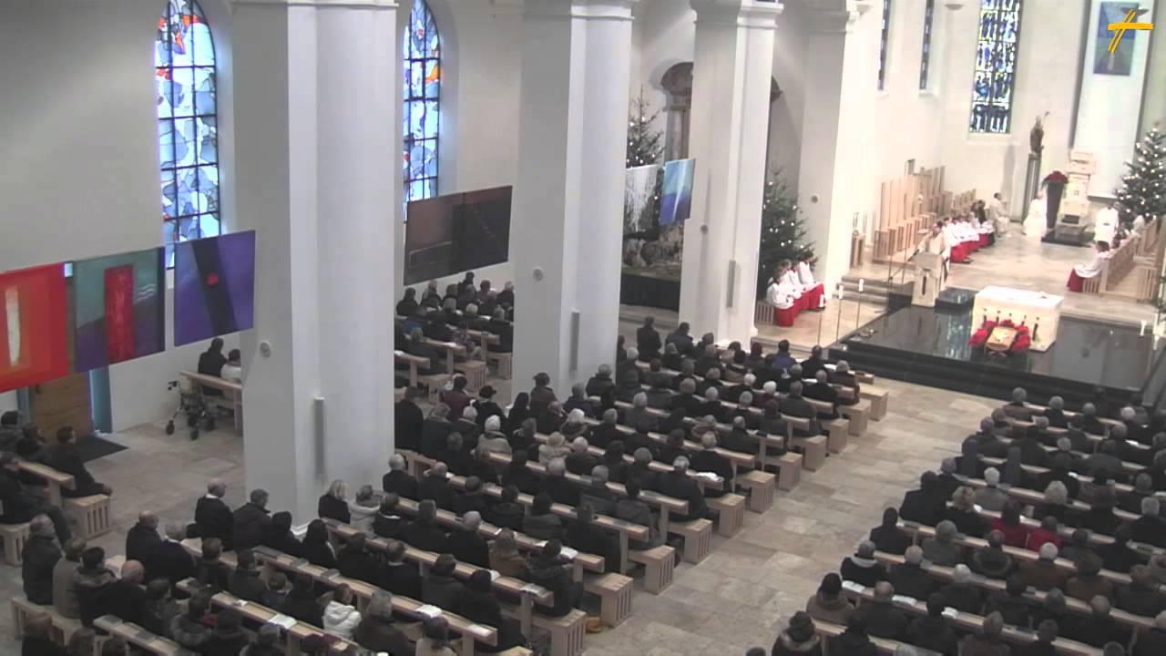 Weihnachtspredigt von Bischof Dr. Gebhard Fürst - YouTube