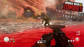 """WW2 ZOMBIES - """"THE DARKEST SHORE"""" FULL EASTER EGG COMPLETED!! (Call of Duty WW2 Zombies)"""