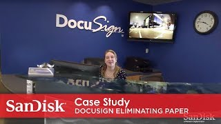 Case Study | DocuSign is Eliminating Paper: One Digital Signature at a Time