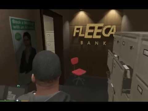 GTA 5 Как ограбить банк #1